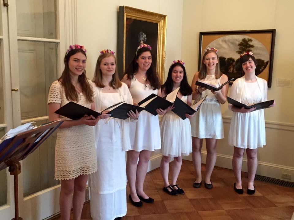 Sacred Harmony . Princeton H.S. Students